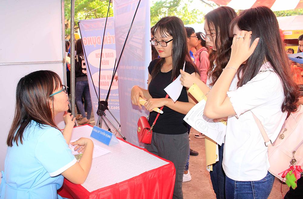 Ngày hội tuyển dụng Trường Đại học An Giang năm 2019