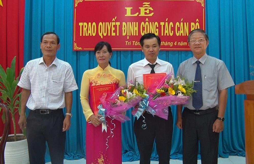 Ông Trần Nam Dương về làm Bí thư Đảng ủy xã Lương An Trà