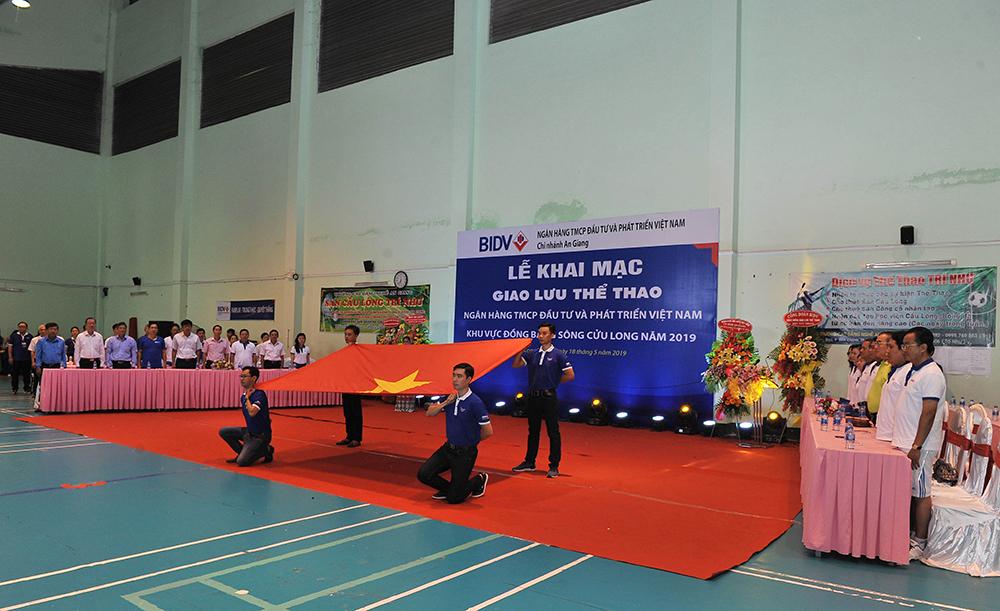 Giao lưu thể thao Ngân hàng TMCP Đầu tư và Phát triển Việt Nam khu vực ĐBSCL năm 2019