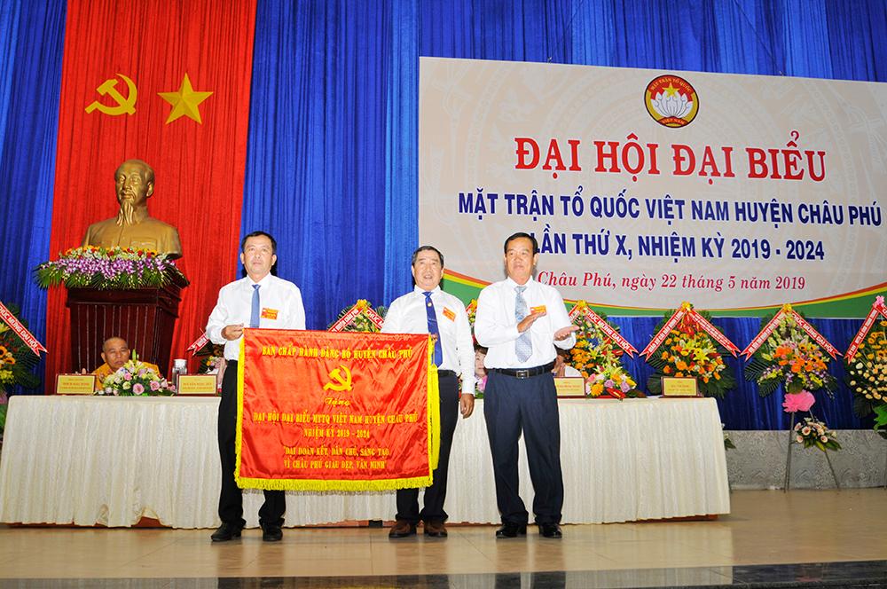 61 vị tham gia Ban Chấp hành UBMTTQ Việt Nam huyện Châu Phú, nhiệm kỳ 2019-2024