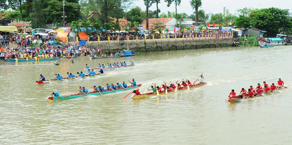 Dấu ấn từ hội đua thuyền Bình Thủy