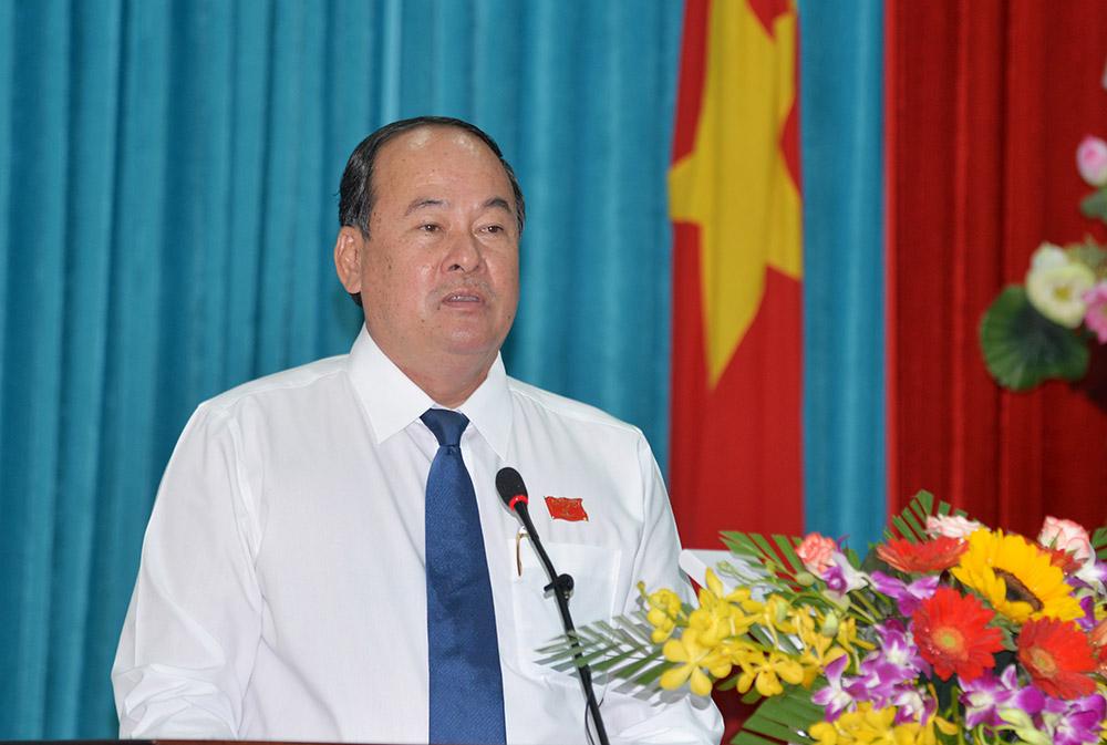 Chủ tịch UBND tỉnh An Giang Nguyễn Thanh Bình