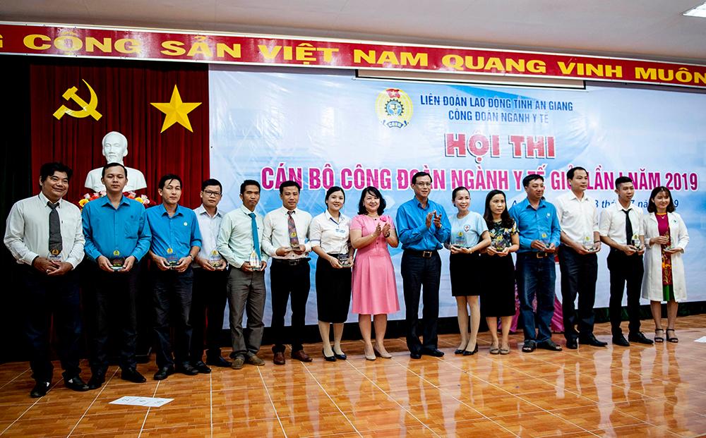 Hội thi cán bộ Công đoàn ngành Y tế giỏi lần thứ I năm 2019