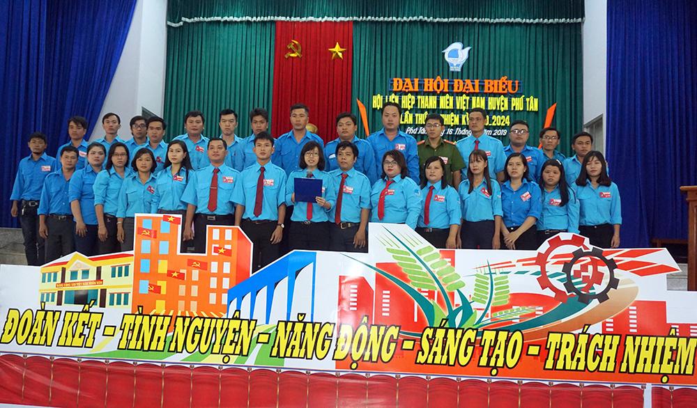 Đại hội đại biểu Hội Liên hiệp Thanh niên huyện Phú Tân lần thứ VI