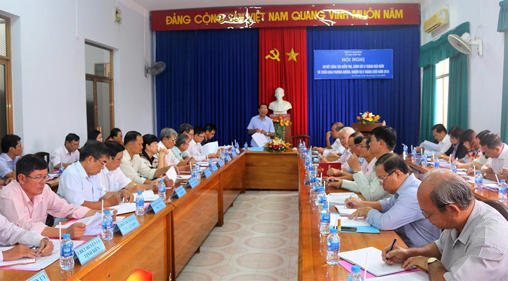Ủy ban Kiểm tra Tỉnh ủy thực hiện hiệu quả nhiệm vụ kiểm tra, giám sát