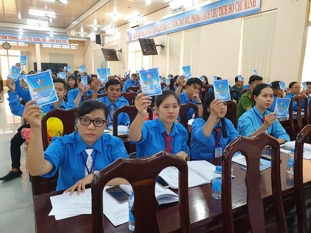 Đại hội đại biểu Hội Liên hiệp Thanh niên Việt Nam TP. Châu Đốc nhiệm kỳ 2019-2024