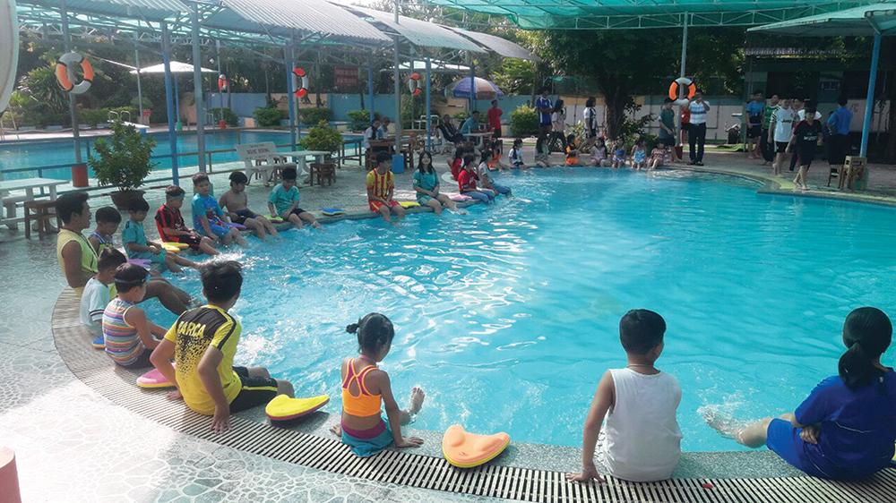 Chợ Mới: Phát động toàn dân bơi lội phòng, chống đuối nước