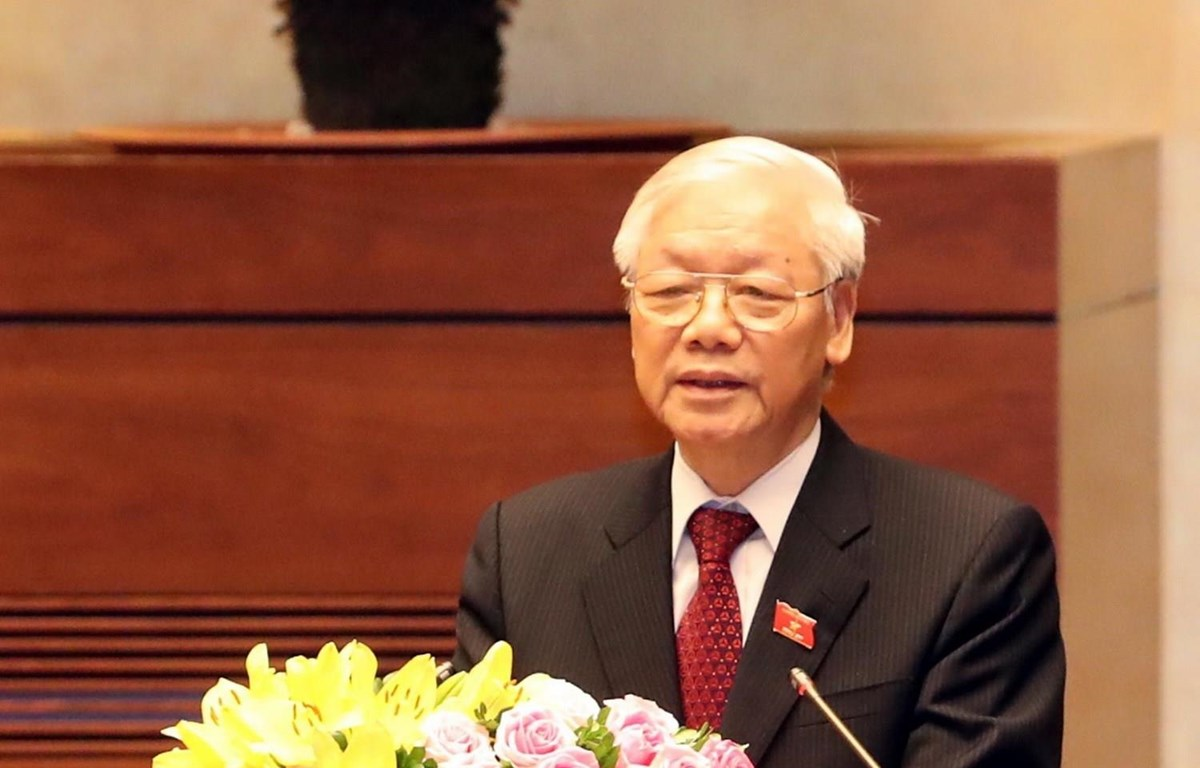 Tổng Bí thư, Chủ tịch nước Cộng hòa xã hội chủ nghĩa Việt Nam Nguyễn Phú Trọng. (Ảnh: Phương Hoa/TTXVN)