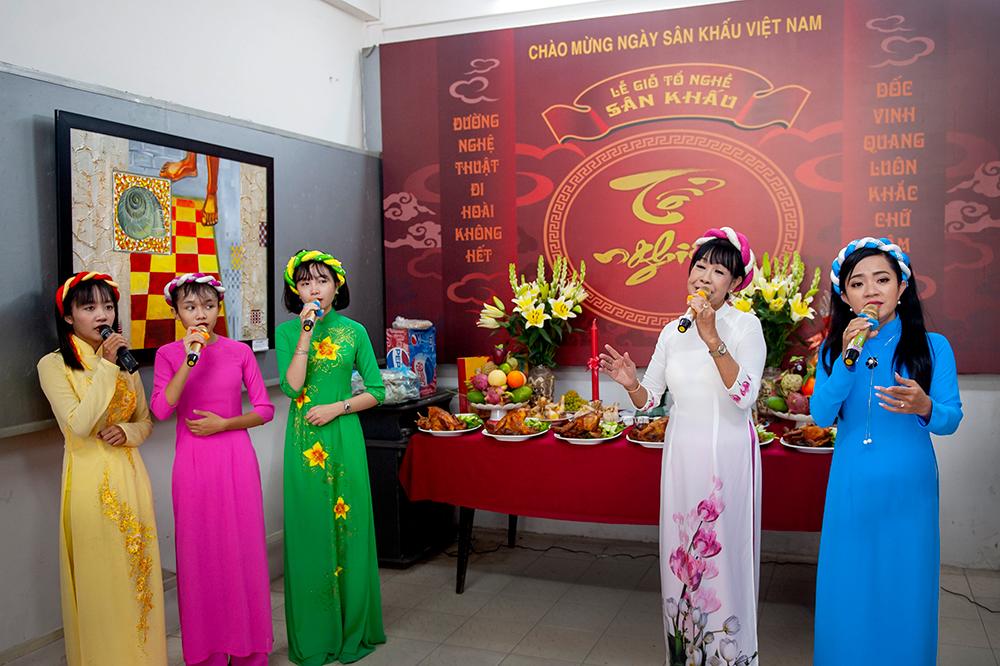 Liên hiệp các Hội Văn học Nghệ thuật An Giang: Tổ chức Lễ Giỗ tổ Sân khấu