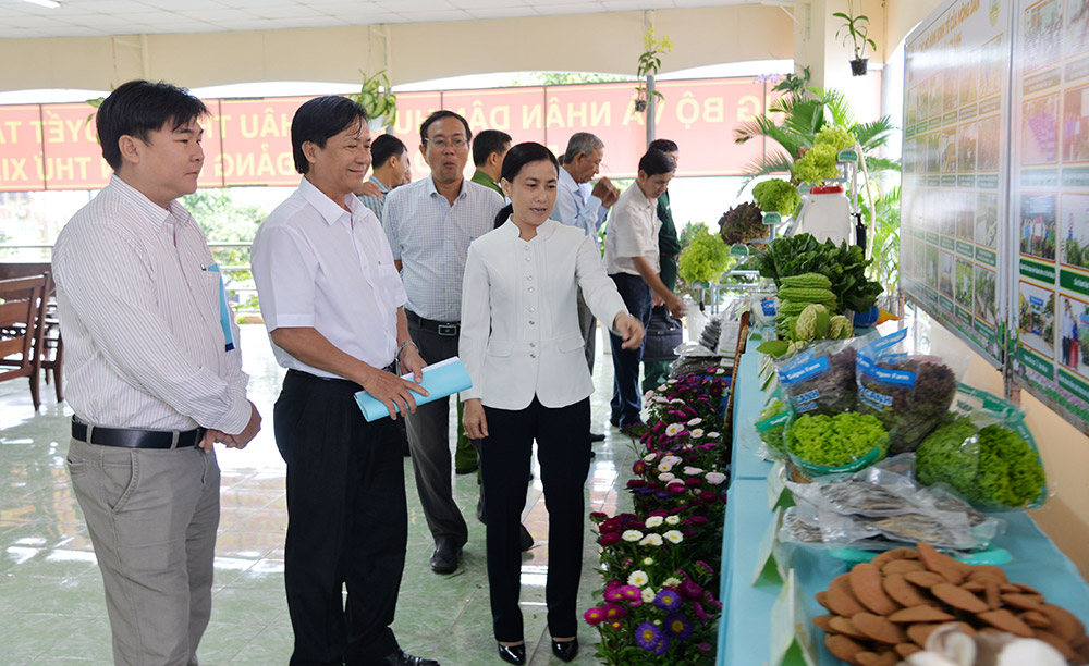 Tham quan các các mô hình, sản phẩm nông nghiệp tiêu biểu của huyện Châu Thành