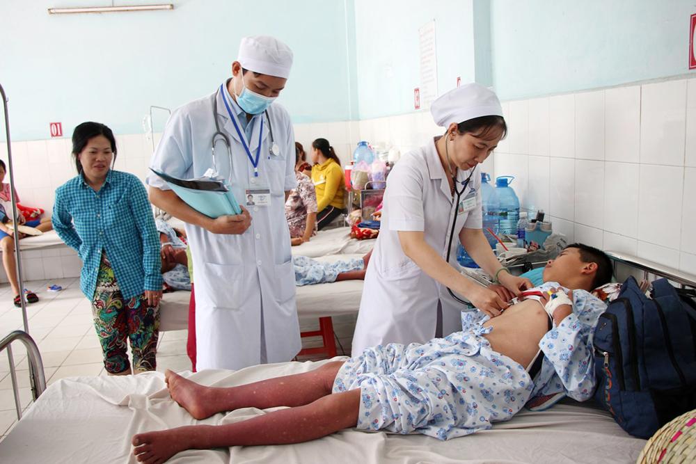 Bệnh sốt xuất huyết ở An Giang tăng cao