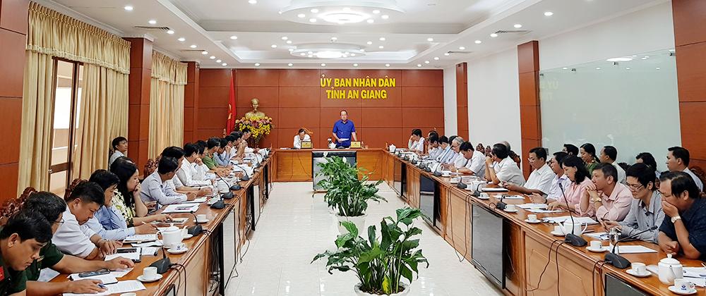 Chủ tịch UBND tỉnh Nguyễn Thanh Bình: