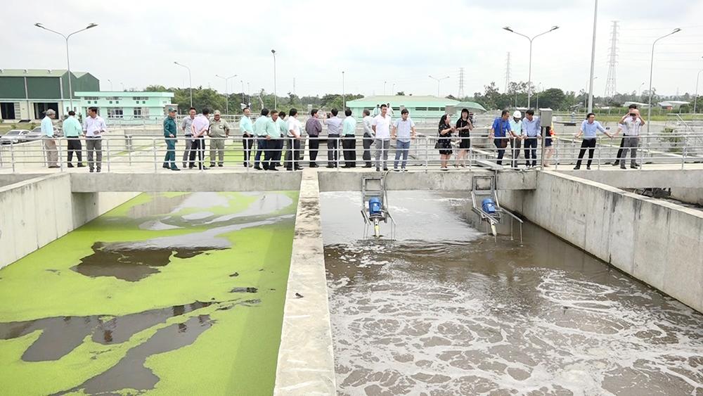 Khánh thành Công trình Hệ thống thoát nước và xử lý nước thải TP. Long Xuyên