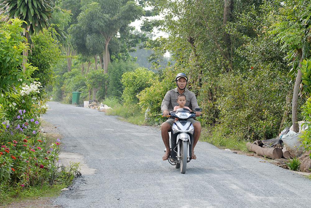 Xã An Hòa đón nhận niềm vui nông thôn mới