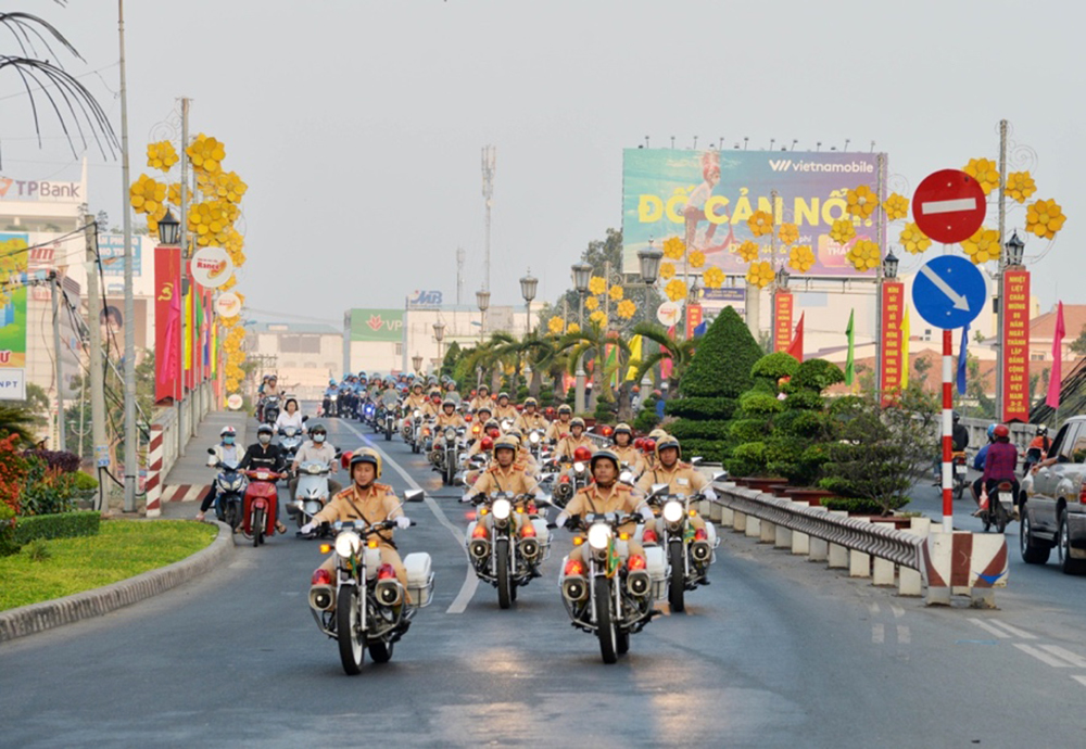 Ngày hội An toàn giao thông khu vực ĐBSCL năm 2019: Lan tỏa tinh thần xây dựng văn hóa giao thông