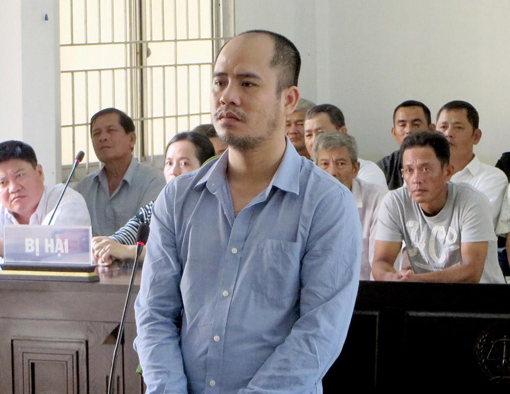 Bị cáo Phương tại phiên tòa