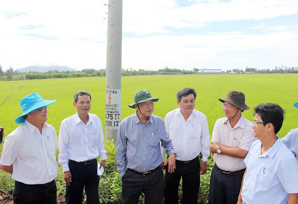 Xã Lương An Trà xây dựng nông thôn mới