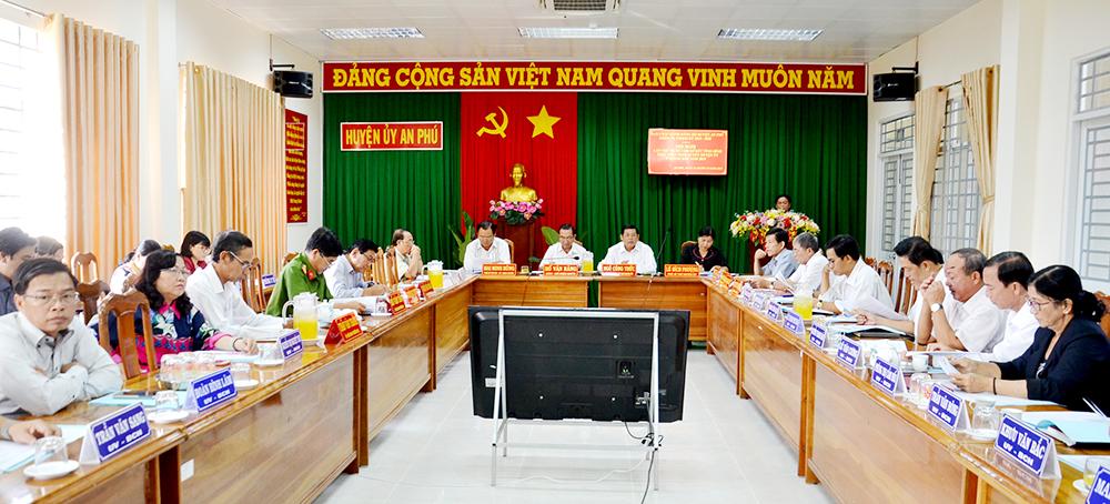 Hội nghị Ban chấp hành Đảng bộ huyện An Phú