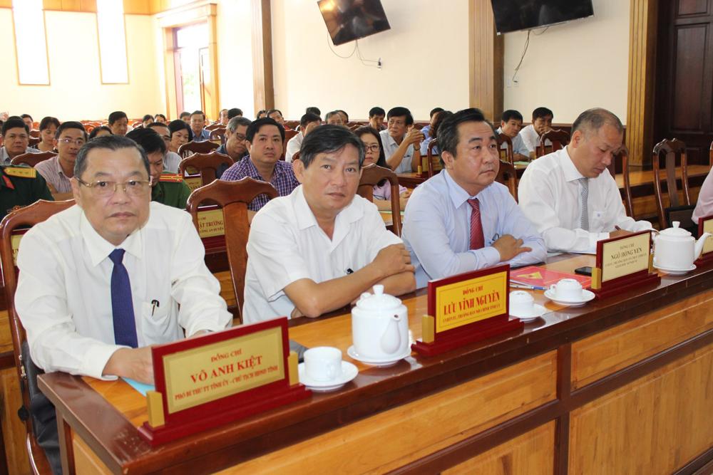 Điều động, chỉ định Giám đốc Sở Công thương Võ Nguyên Nam giữ chức Bí thư Huyện ủy Chợ Mới