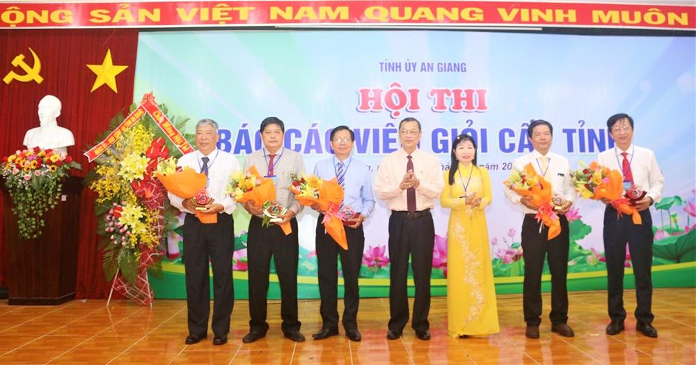 Khai mạc Hội thi Báo cáo viên giỏi cấp tỉnh năm 2019