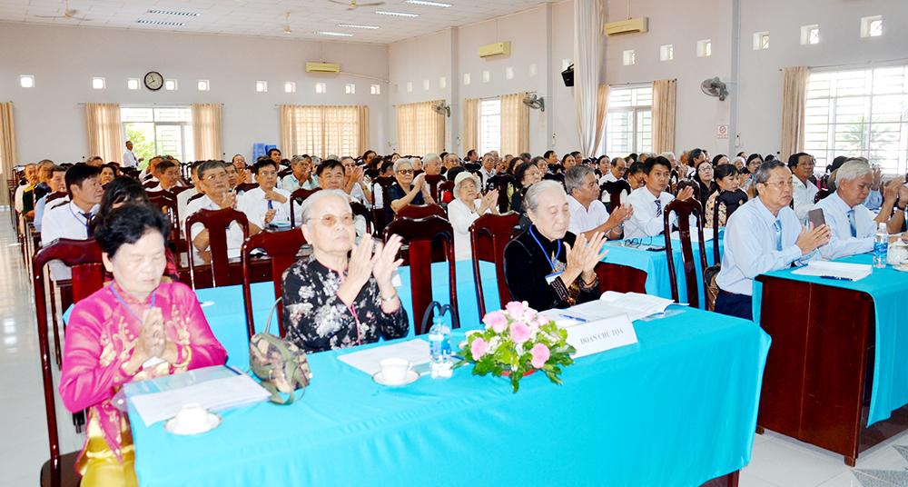 Hội nghị hiệp thương đại biểu CLB Hưu trí An Giang lần 2