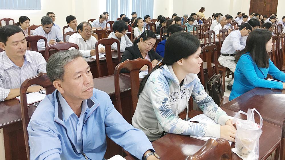 Đảng ủy Khối Cơ quan và Doanh nghiệp: Bồi dưỡng nghiệp vụ tuyên truyền miệng