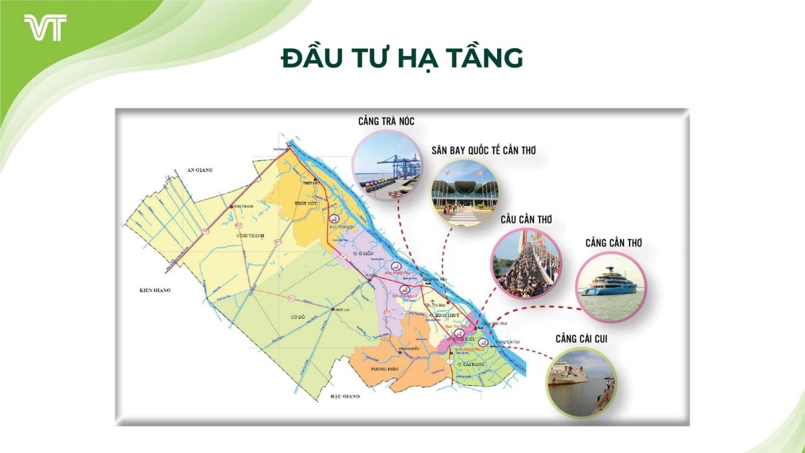 Hình ảnh đầu tư hạ tầng tại khu vực Cần Thơ