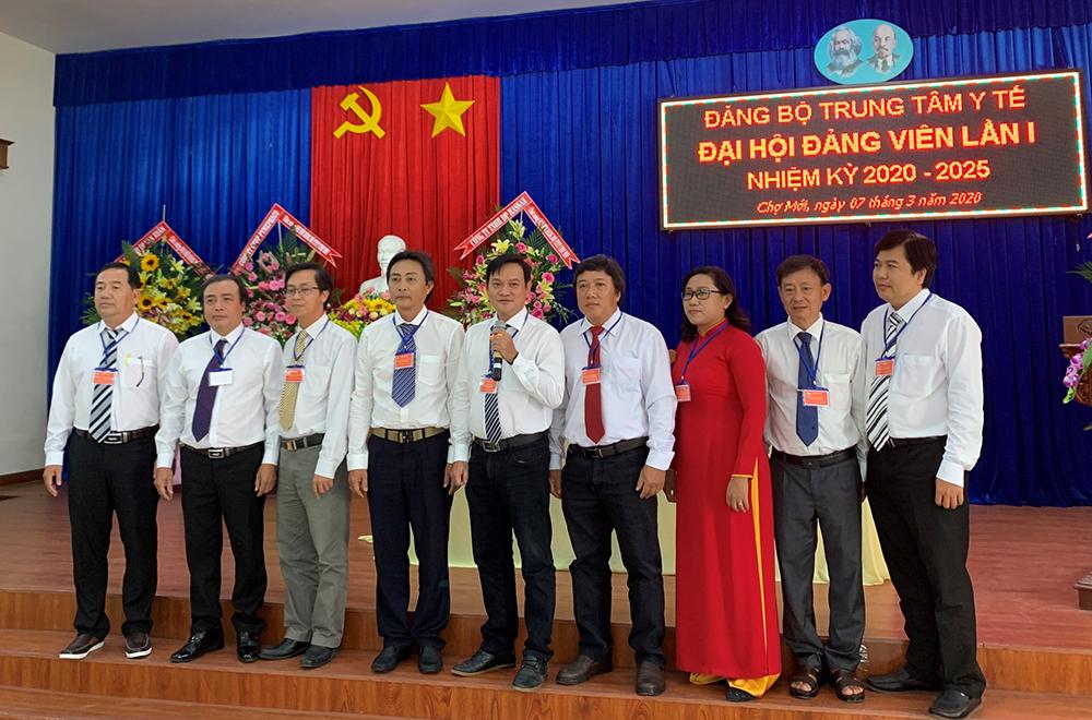 Đại hội điểm bầu trực tiếp Bí thư Đảng bộ Trung tâm Y tế huyện Chợ Mới