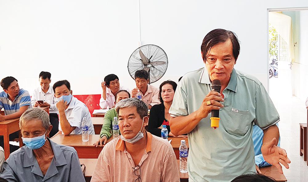 Triển khai bồi thường dự án Trung tâm Thương mại Vịnh Trà Long Xuyên
