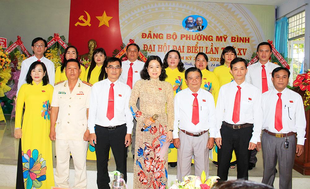 Long Xuyên: Tổ chức thành công Đại hội Đảng bộ điểm