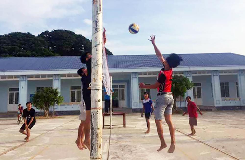 An Phú xây dựng thế mạnh bóng chuyền