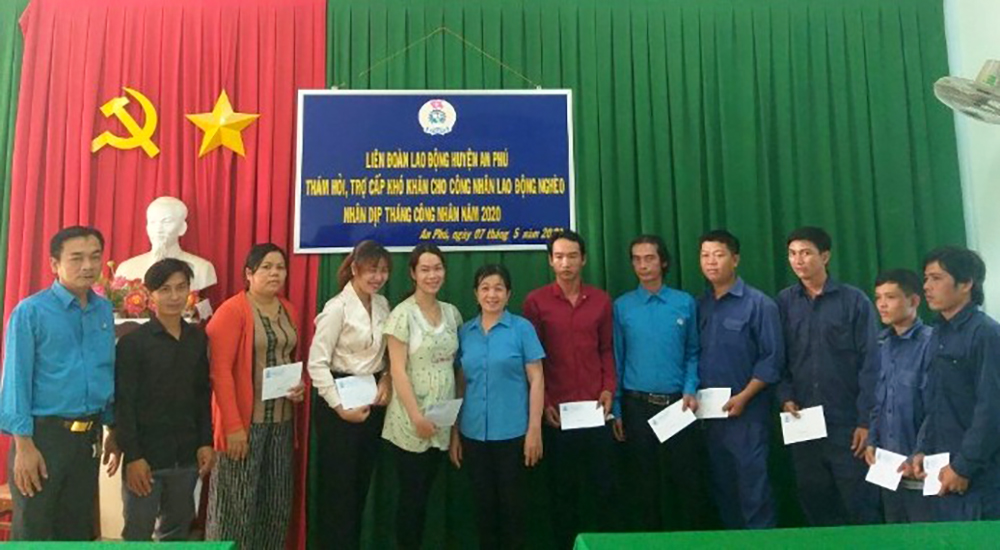 Các cấp Công đoàn ở An Giang khởi động Tháng Công nhân năm 2020