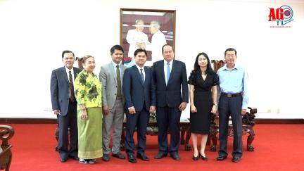 Chủ tịch UBND tỉnh tiếp Tổng Lãnh sự quán Vương quốc Campuchia