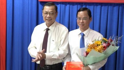 Đồng chí Thái Minh Hiển giữ chức Bí thư Đảng ủy khối Cơ quan và Doanh nghiệp