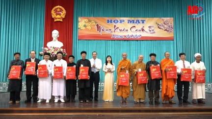Họp mặt nhân sĩ, trí thức, dân tộc, tôn giáo, Việt kiều tiêu biểu mừng Xuân Canh Tý 2020