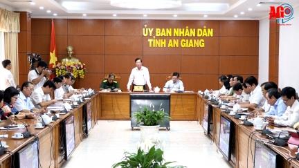 Hội nghị trực tuyến toàn tỉnh về công tác phòng, chống dịch Covid-19