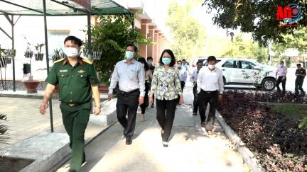 Bí thư Tỉnh ủy An Giang Võ Thị Ánh Xuân: cần có phương án dự phòng tình huống dịch Covid-19 ở cấp độ cao hơn