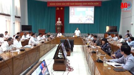 An Giang: Cả hệ thống chính trị vào cuộc phòng, chống dịch Covid-19