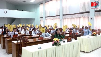 Kỳ họp lần thứ 13 HĐND tỉnh (khoá IX) thông qua nhiều vấn đề quan trọng