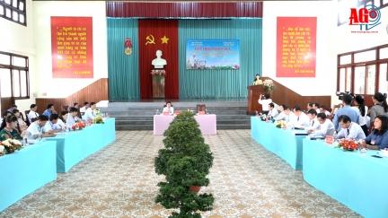 """Hội thảo khoa học """"An Giang học tập và làm theo  tư tưởng, đạo đức, phong cách  Hồ Chí Minh"""""""