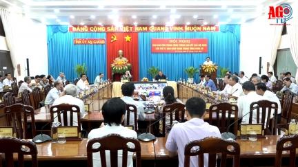 Hội nghị báo cáo viên trực tuyến thông báo kết quả Hội nghị Trung ương 12