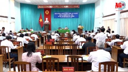 Kỳ họp thứ 14 HĐND tỉnh An Giang bất thường xem xét các nội dung đề nghị công nhận TP. Long Xuyên là đô thị loại I