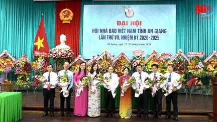 Đại hội lần thứ VII Hội Nhà báo Việt Nam tỉnh An Giang, nhiệm kỳ 2020-2025 thành công tốt đẹp