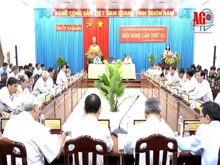 Ban Chấp hành Đảng bộ tỉnh bàn giải pháp thực hiện nhiêm vụ phát triển kinh tế - xã hội