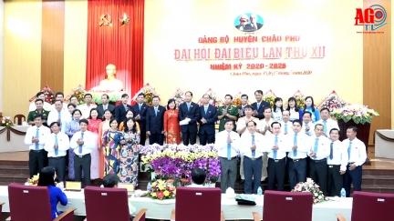 Đồng chí Trần Thanh Nhã tái đắc cử Bí thư Huyện ủy Châu Phú