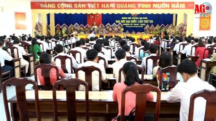 Khai mạc Đại hội đại biểu Đảng bộ huyện An Phú lần thứ VII (nhiệm kỳ 2020- 2025)
