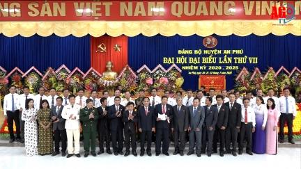 Đại hội đại biểu Đảng bộ huyện An Phú lần thứ VII (nhiệm kỳ 2020-2025) thành công tốt đẹp