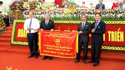 Khai mạc Đại hội đại biểu Đảng bộ huyện Chợ Mới lần XII (nhiệm kỳ 2020 – 2025)