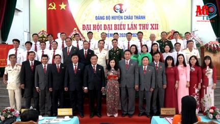 Đại hội đại biểu Đảng bộ huyện Châu Thành lần thứ XII (nhiệm kỳ 2020-2025) thành công tốt đẹp