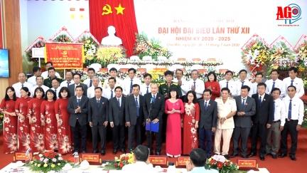 Đồng chí Võ Nguyên Nam tái đắc cử Bí thư Huyện uỷ Chợ Mới nhiệm kỳ 2020 – 2025